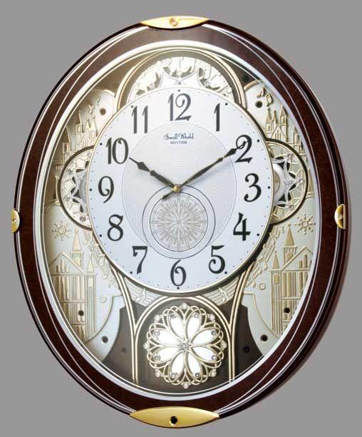 Gala Wall Clock By Rhythm Clocks Chiming Wall Clocks Wall Clock Rhythm Clocks
