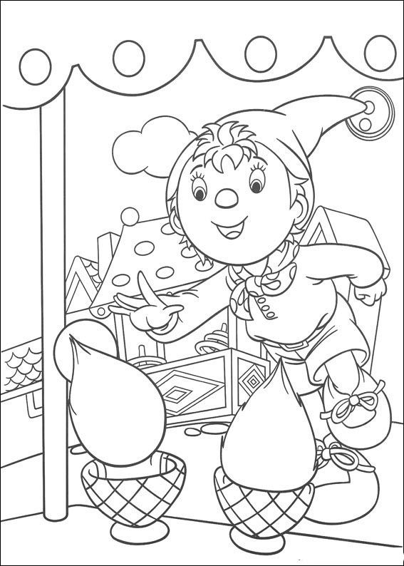 Dibujos para Colorear Noddy 54   Para niños   Pinterest   Colorear ...