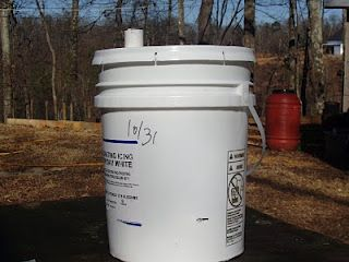self watering  bucket planter