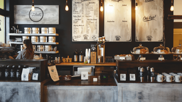 31 Funny Zoom Backgrounds Your Coworkers Will Be Drooling Over Updated Coffee Shop Interior Design Coffee Shops Interior Vintage Coffee Shops