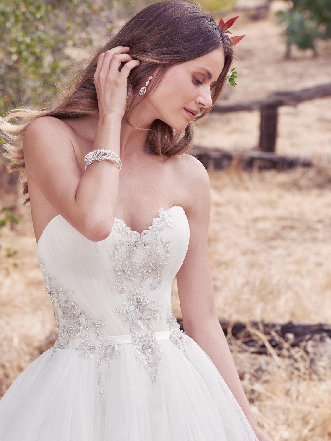 Maggie Sottero Wedding Dresses | Ballgown wedding dress, Maggie ...