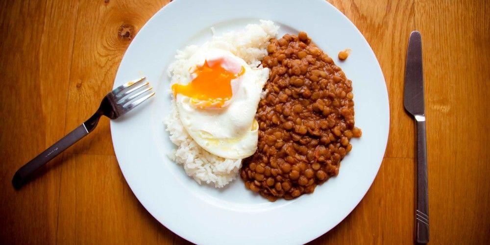 Lentejas o frejoles http://comeentucasa.com #receta #comeentucasa