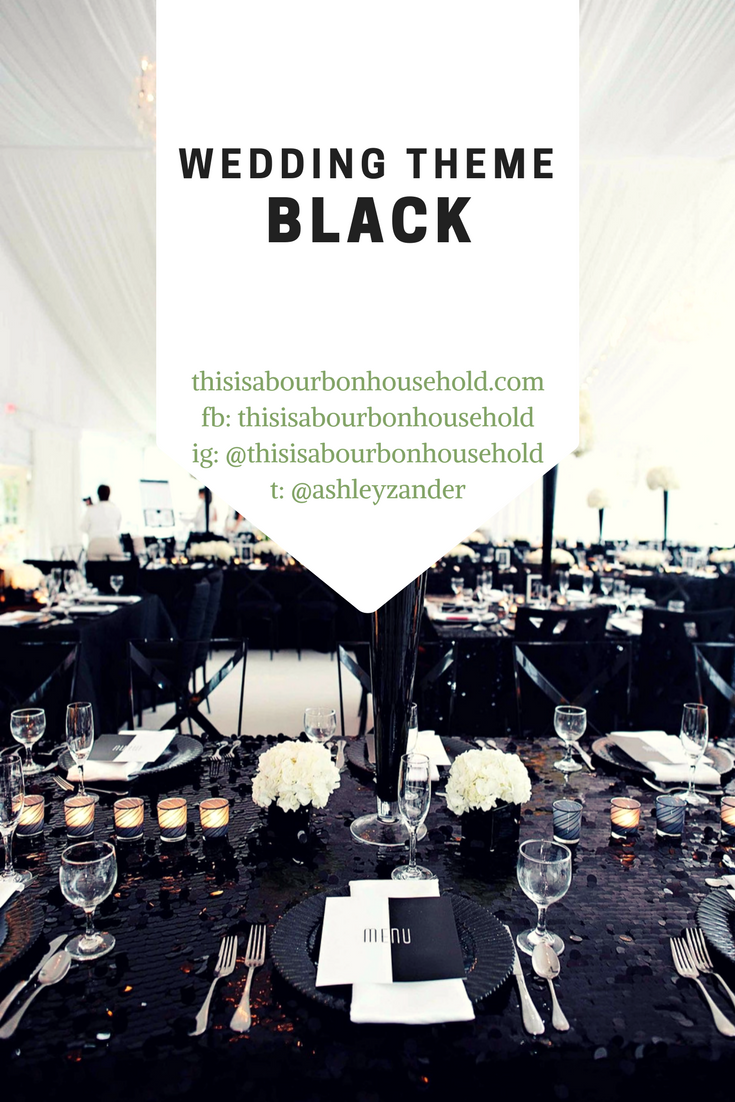 Black Wedding Theme Ideas . . Background picture used from https ...