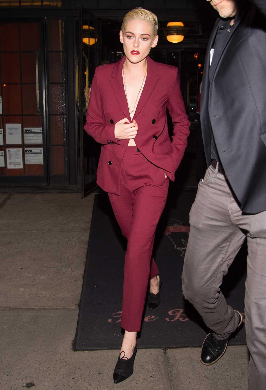 Kristen Stewart Kristen Stewart Style Suits For Women Kristen Stewart