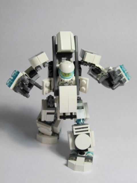 New Lego Mech Hard Suit Complete Custom Kit With Instructions And