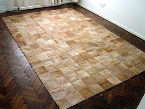 Pelli tappeto patchwork in pelle di mucca cu 490 new home