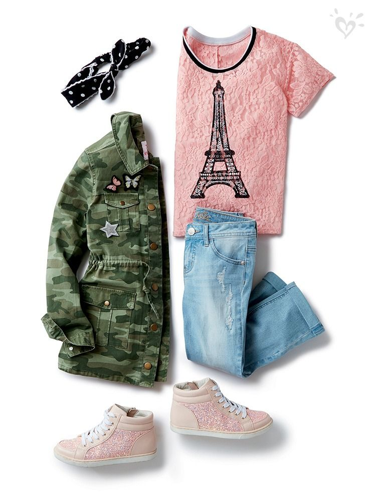 Justice store clothes winter