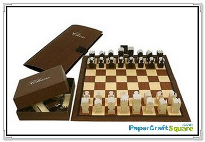 Creative Park Papercraft Canon Creative Park Chess Papercraft