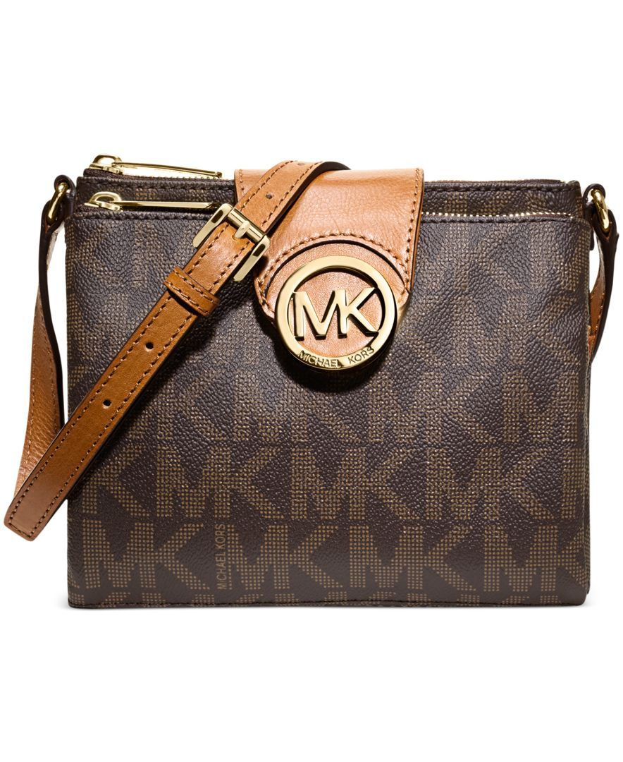 b5faf8229997 MICHAEL Michael Kors Handbag, Fulton Large Crossbody - Handbags &  Accessories - Macy's
