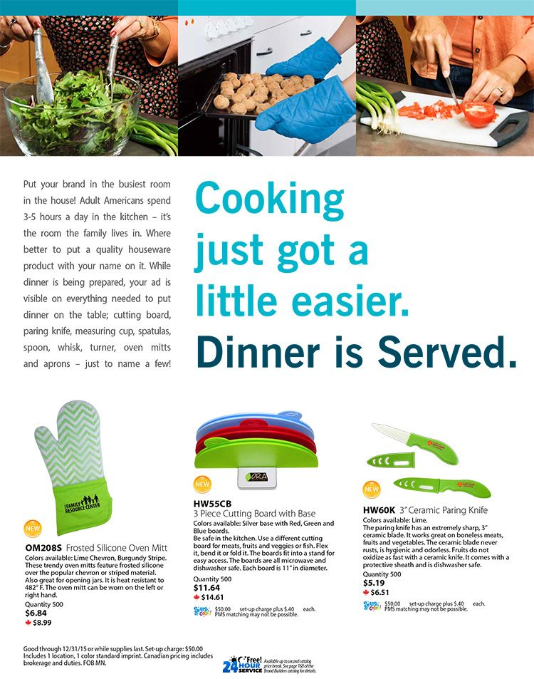 Dinner is a snap with these helpful kitchen products!