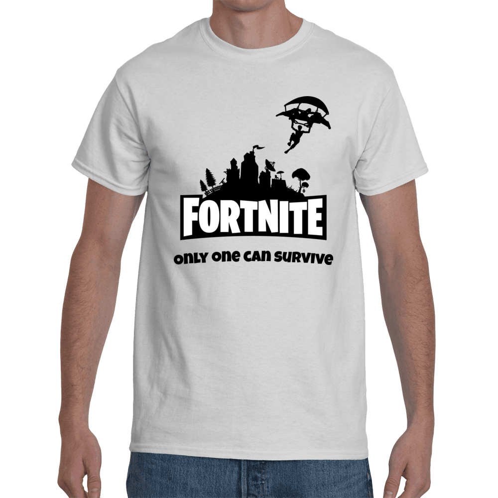 T Shirt Fortnite Only One Can Survive Everything E Pinterest