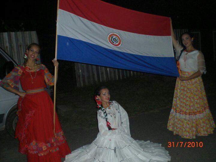 Bandera paraguaya!!