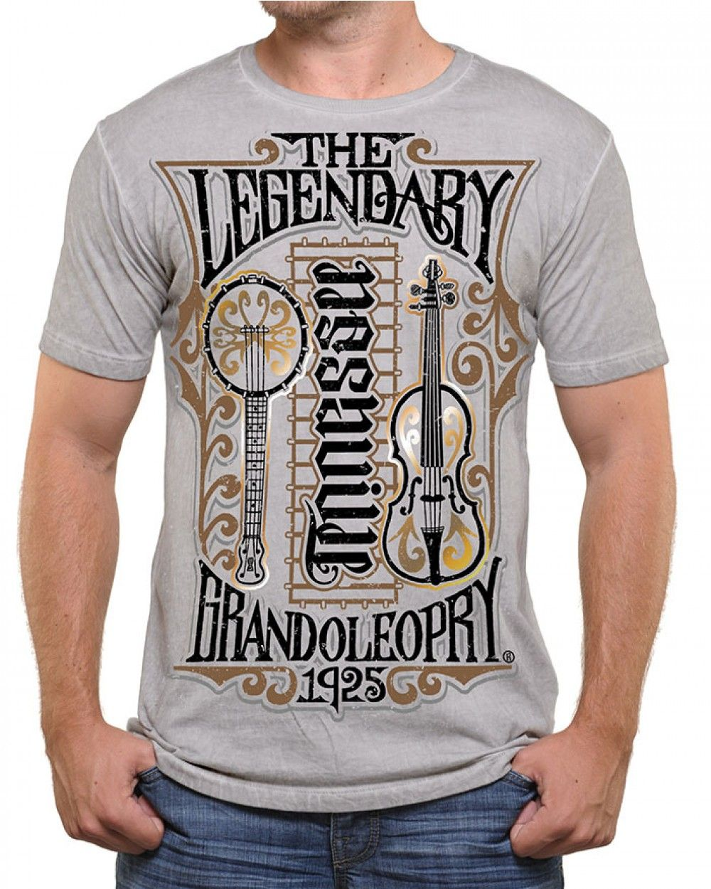 THE LEGENDARY GRAND OLE OPRY AMBIGRAM TEE - Country roots - Get The Look