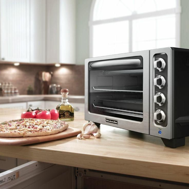 The Kitchenaid Countertop Toaster Oven Offers A Spacious Capacity