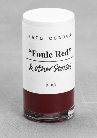 And Other Stories   Nail Colour   Foule Red