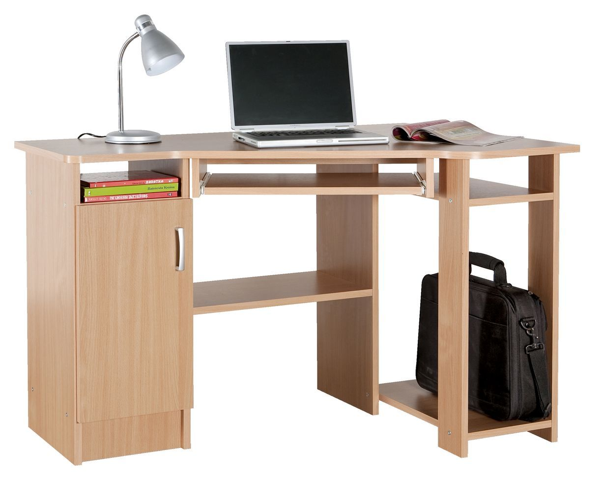 Písací stolík SIMON farba buka v JYSK-u. | Homie | Pinterest | Catalog