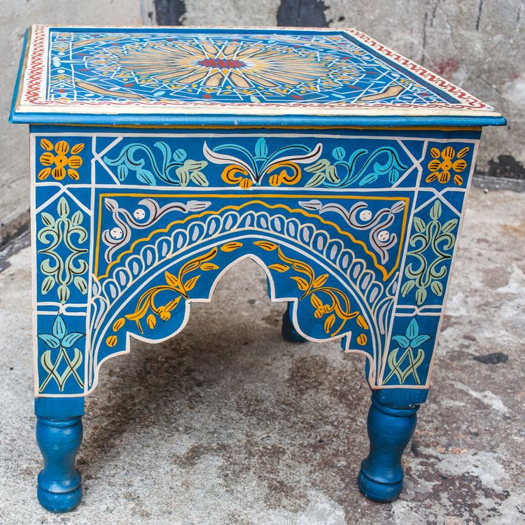 Lots of neat Moroccan furniture on Hip and Humble Home's site!