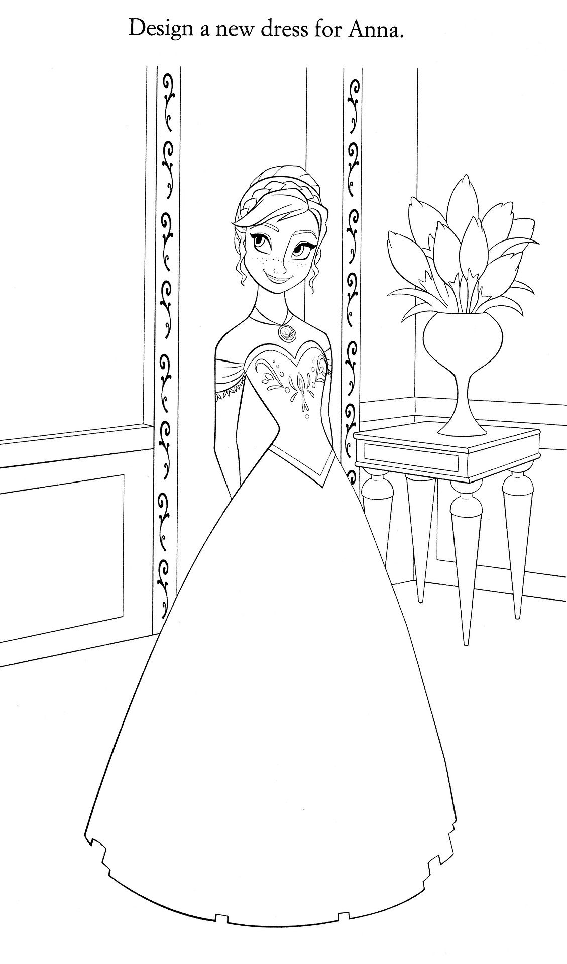 Disney coloring pages frozen in pinterest adult coloring