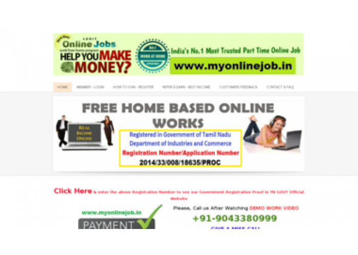 Home based online jobs without investment in chennai tamilnadu paddy power politics constituency betting odds