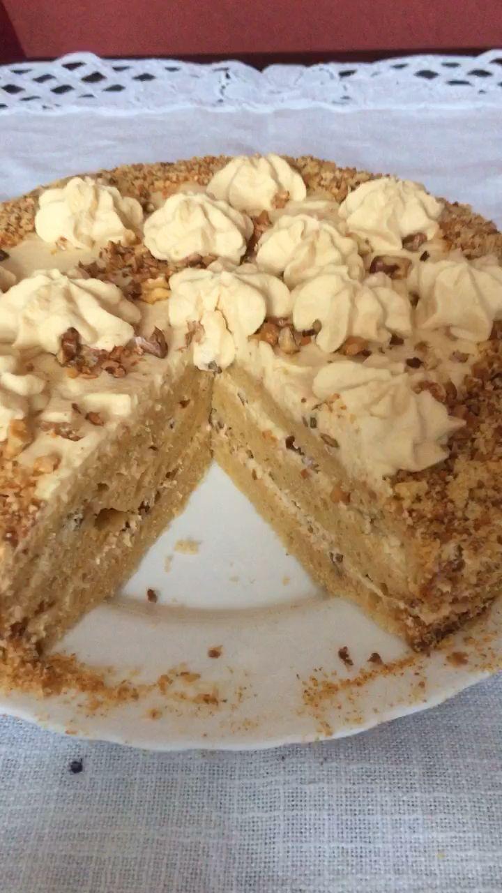 Torte Solotoj Klütschik – Rezept für leckeren russischen Karamellkuchen