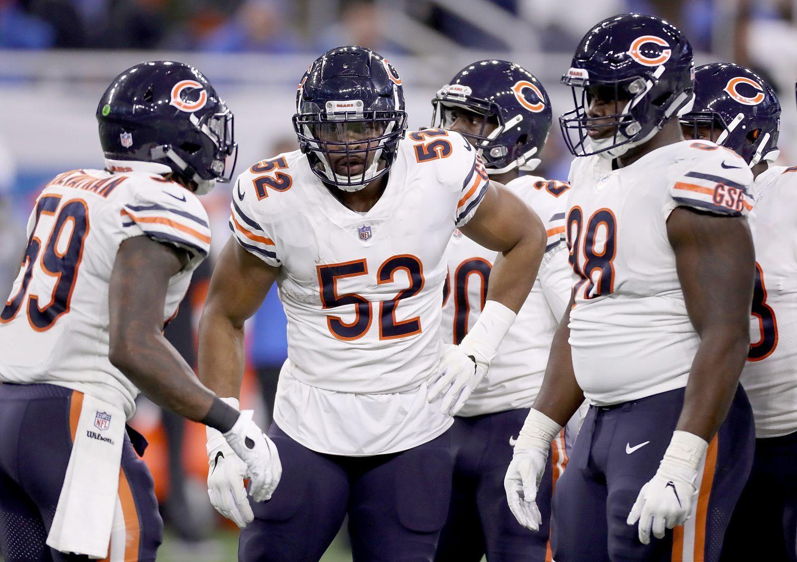 All Eyes On Khalil Mack As New York Giants Host Bears New York Giants Mack Chicago Bears Super Bowl