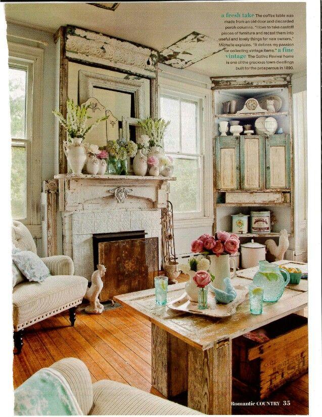 Romantic Country Magazine   Decor, Cottage style interiors ...