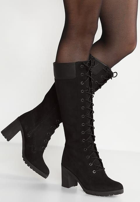 Schwarz – Timberland Allington 14 Inch Boot Damen Black Nubuck