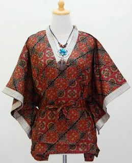 Batik Kelelawar Model Pakaian Batik Pakaian