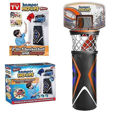 Basketball Hoop Laundry Basket Kids Room ##basketball Hoop And Hamper #laundry Clothes Hanging Door