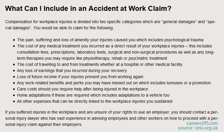 injury at work employer responsibilities if i get injured at work do i get paid injured at work who pays medical bills how long do you have to report an injury at work work related injuries lawyer injured at work but not reported workplace injury employee rights injury at work employee responsibilities i was injured at work what are my rights if i get hurt at work what are my rights i got hurt on the job what are my rights injured at work then fired injured at work, but not reported injured at work who pays medical bills injury at work employer responsibilities work-related injury lawyer near me reinjured shoulder at work injured outside of work, what to do going to er for work-related injury i got hurt at work will i get a settlement accidents at work compensation examples dismissed after accident at work return to work after workplace accident employee injured outside work uk can i sue my employer for stress uk i had an accident at work what are my rights workcover qld workers' compensation i fell at work and hurt my shoulder i fell at work and hurt my knee workers' comp fall from ladder if i get injured at work do i get paid incident report workers comp work accidents lawyers accident at work compensation calculator injury at work nhs can i claim for an accident after 3 years injured at work compensation i was injured at work what are my rights i was injured at work what are my rights uk