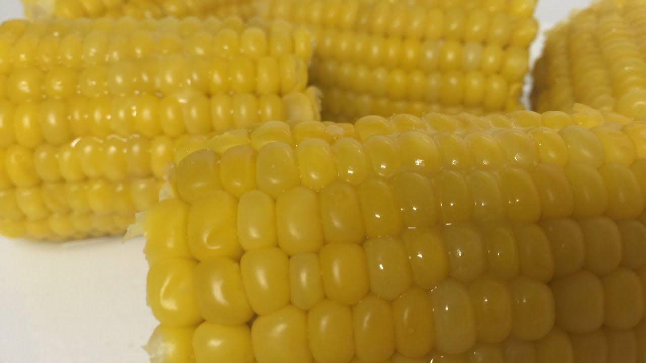 How To Make Delicious Corn On The Cob طريقة تحضير الذرة المسلوقة By Easylife Youtube Vegetables Corn