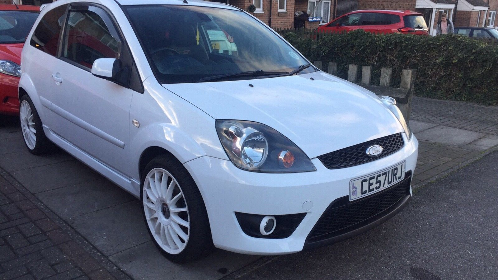 Check Out This Fast Ford 2007 57 Plate Ford Fiesta St White