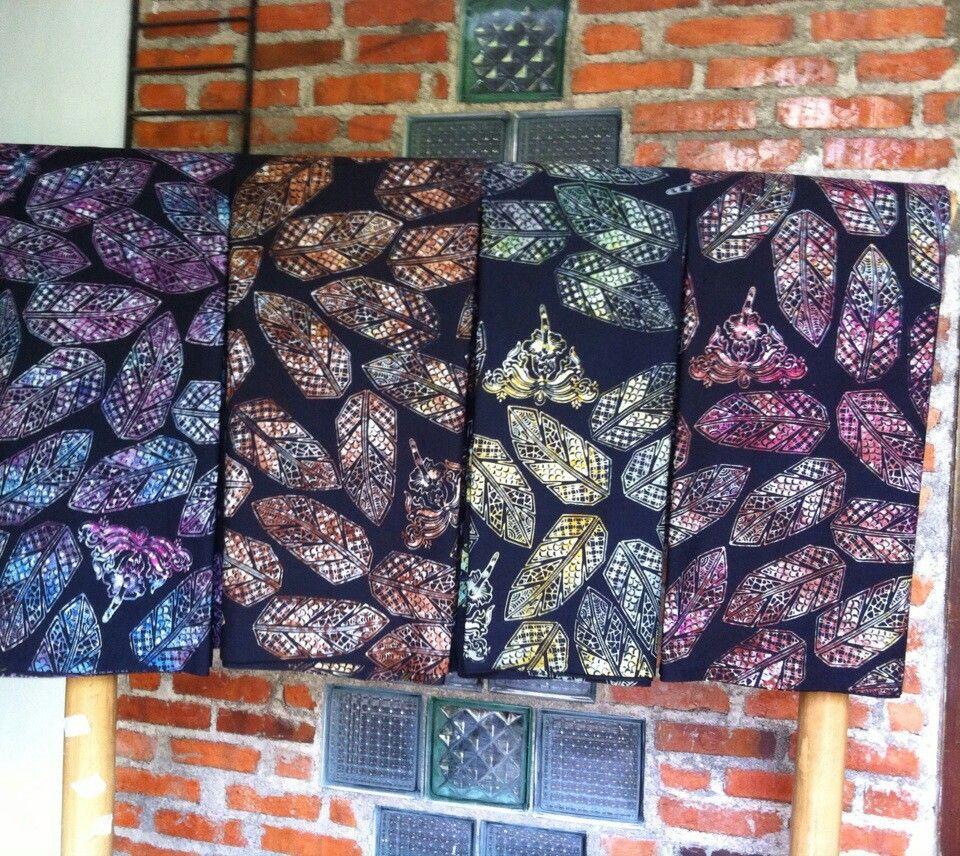 Gambar Batik Daun - Batik Indonesia