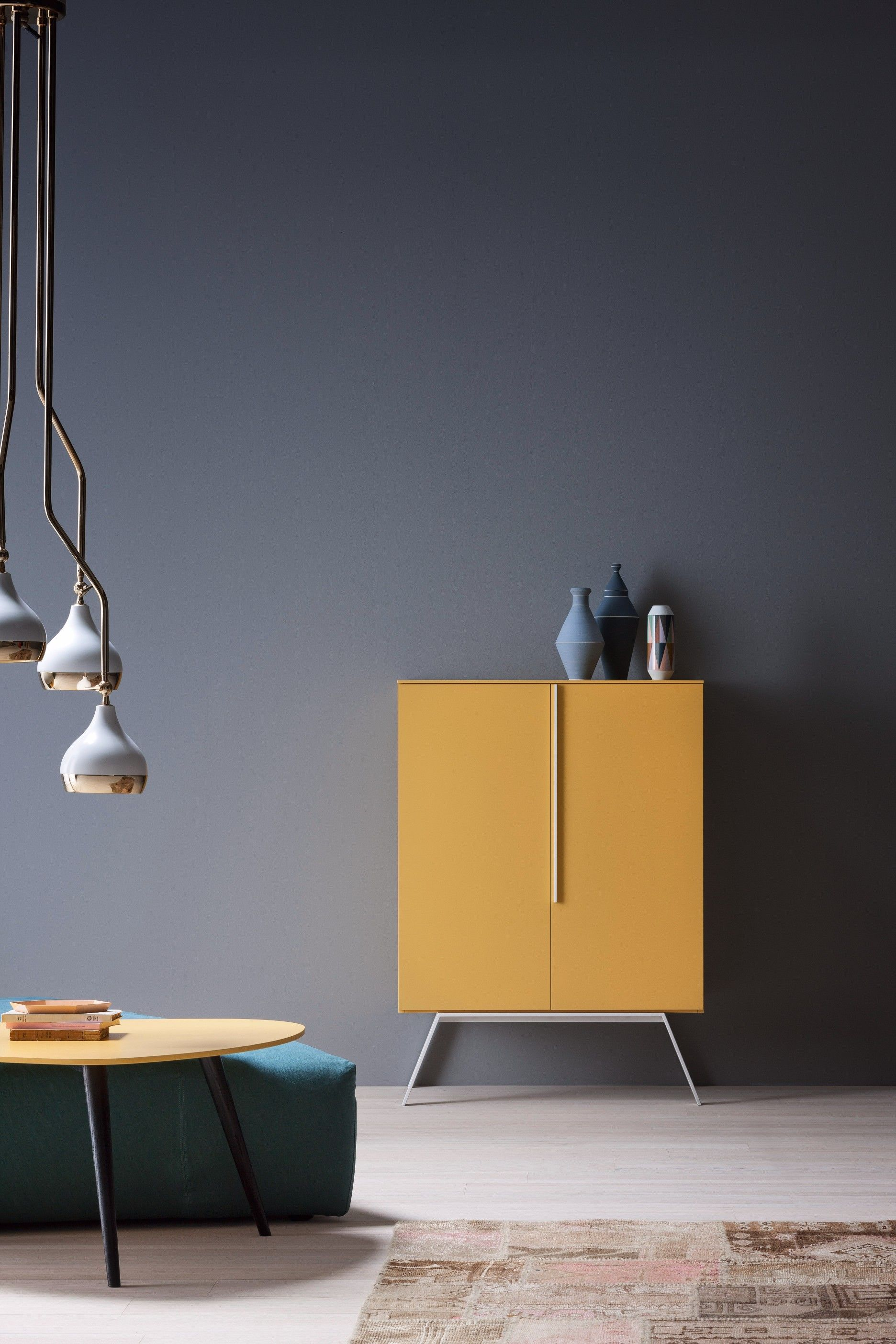 Hanna Midcentury Modern Suspension Lamp Interiors Deco Wall And  # Meuble Tv Hanna