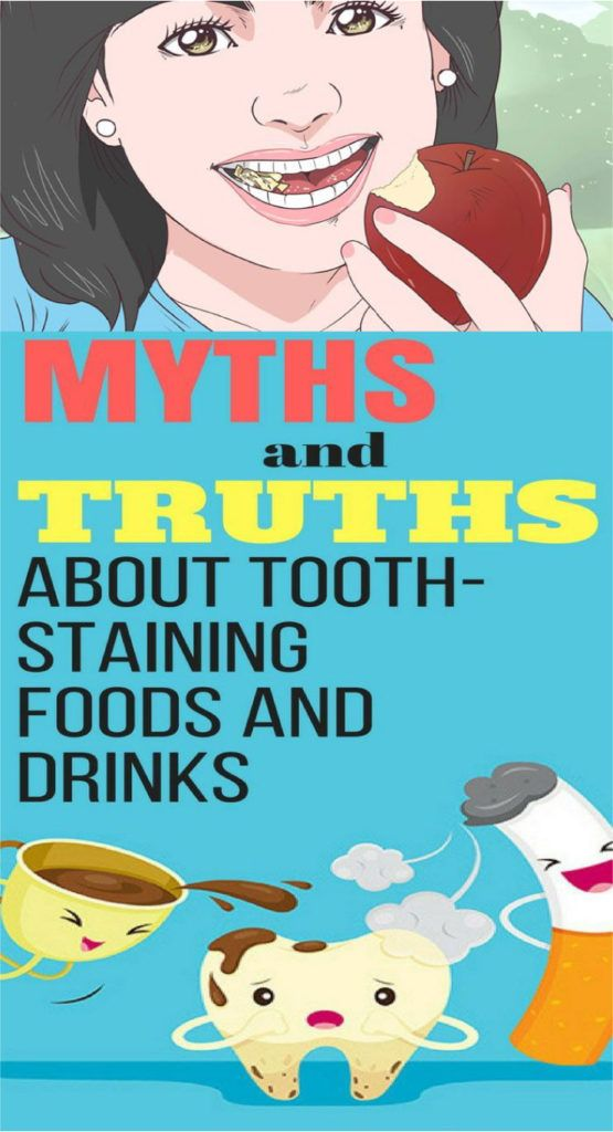 Myths & Truths About Tooth-Staining Foods & Drinks
