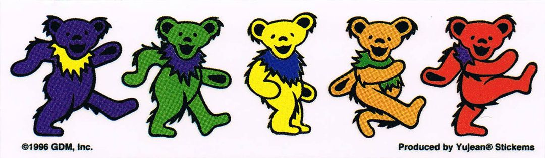 More Bears Grateful Dead Bears Grateful Dead Dancing Bears