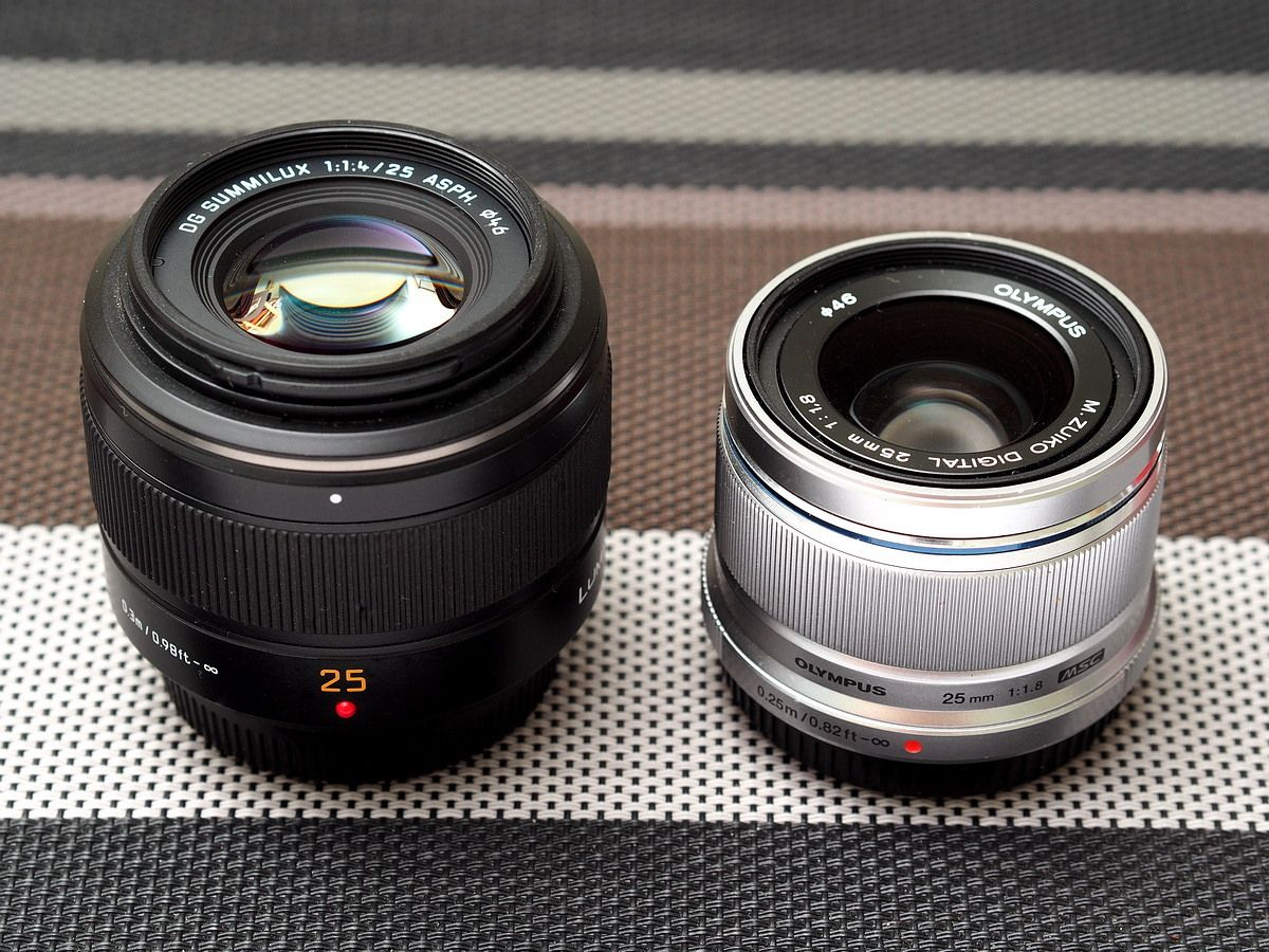 Robin Wong Olympus M Zuiko 25mm F1 8 Lens Review Part 2 Comparison With Panasonic Leica 25mm F1 4 Fotos Videos
