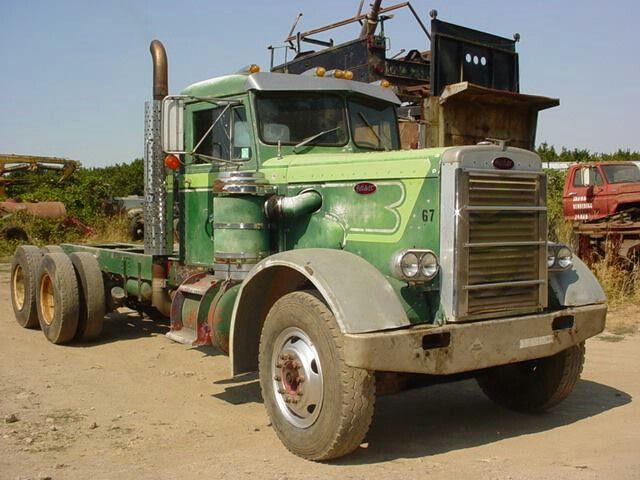 1967 PETERBILT 351   peterbilt   Peterbilt trucks, Big rig
