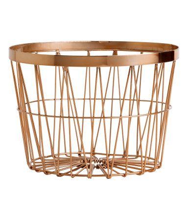 H&M Cesta de metal $169
