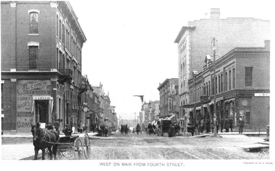 Downtown la crosse downtown historical