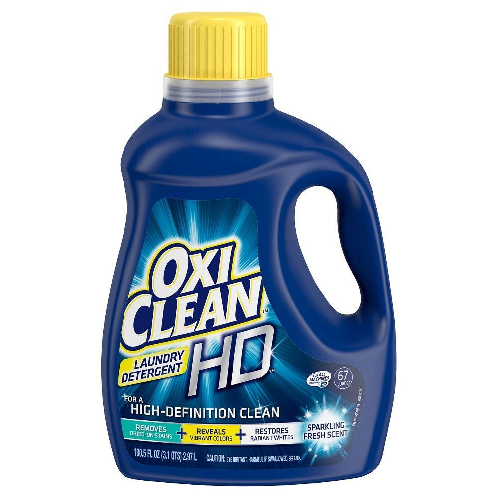 Oxiclean Fresh Scent Liquid Laundry Detergent 100 5 Fl Oz