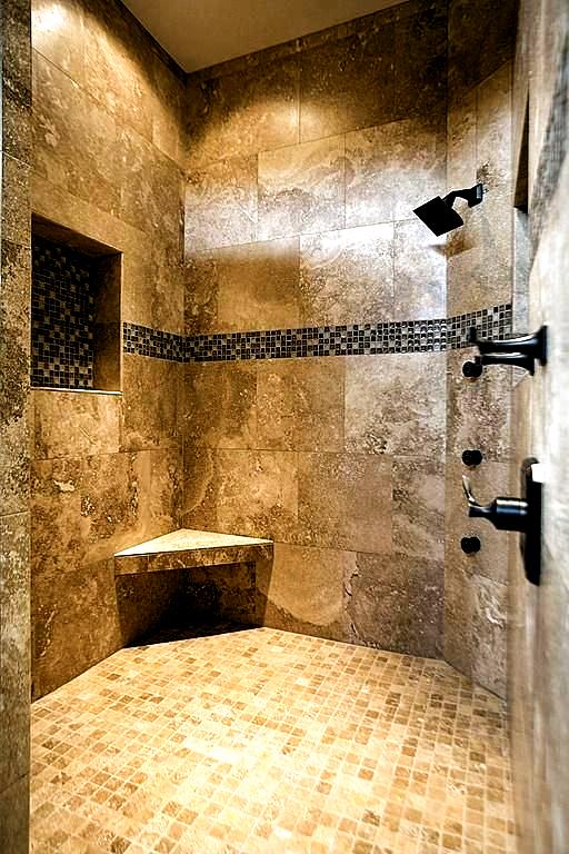 7 Bathroom Tile Ideas Colorful Tiled Bathrooms Bathroom Remodel Shower Bathroom Remodel Master Shower Remodel