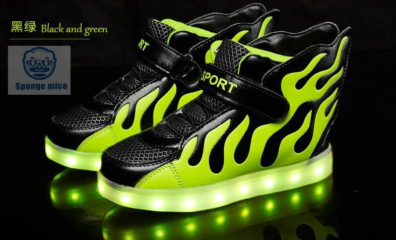 2017 New Led Light Shoes Children Wings Light Shoes Usb Rechargeable Colorful Luminous Shoes Shoes Price Us 21 Kid Shoes Childrens Shoes Sneakers