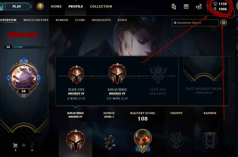 League Of Legends Account Na Bronze 4 42 Champions 23 Skins