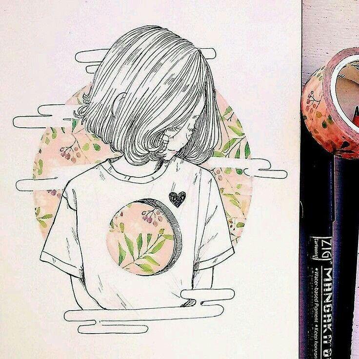 d0110ce2ae8c20f2b715c29e3469e257 » Aesthetic Drawings Ideas