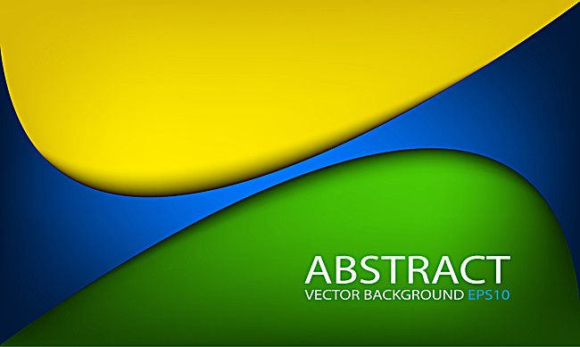 Yellow Blue Background Arc Lines Line Background Abstract