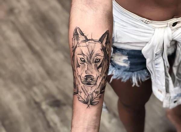 Tatuaż Wilka Znaczenie Historia 115 Zdjęć Pomysł Na