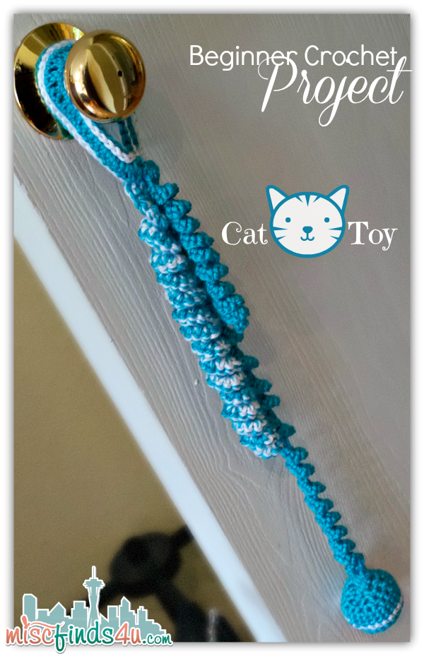 Crochet How To: Beginner Cat Toy Project and Free Pattern Link ...