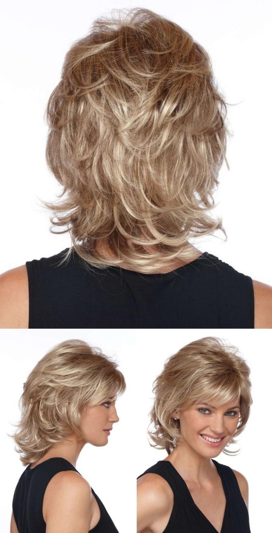 Bem na foto: Corte de cabelo médio repicado