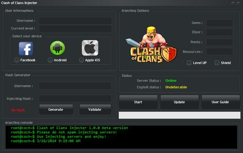 Mycheats Net Clash Of Clans Hack Clash Of Clans